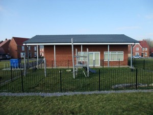Rear View with Play Area