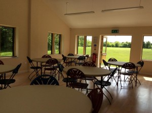 New Hall with Tables